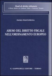 Lpgcsostenible.es Abuso del diritto fiscale nell'ordinamento europeo Image