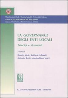 Equilibrifestival.it La governance degli enti locali. Principi e strumenti Image