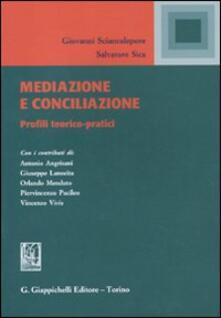 Atomicabionda-ilfilm.it Mediazione e conciliazione. Profili teorici-pratici Image