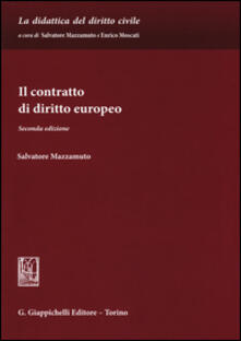 Il contratto di diritto europeo.pdf