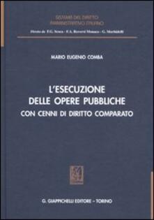Listadelpopolo.it L' esecuzione delle opere pubbliche con cenni di diritto comparato Image