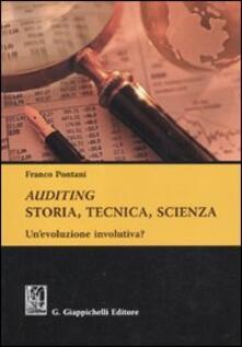 Tegliowinterrun.it Auditing. Storia, tecnica, scienza. Un'evoluzione involutiva? Image