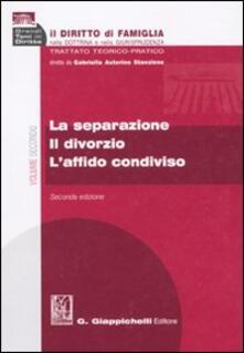 Milanospringparade.it Il diritto di famiglia nella dottrina e nella giurisprudenza. Trattato teorico-pratico. Vol. 2: La separazione. Il divorzio. L'affido condiviso. Image