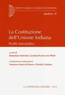 La Costituzione dellUnione Indiana. Profili introduttivi.pdf