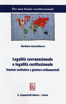 Radiospeed.it Legalità sovranazionale e legalità costituzionale. Tensioni costitutive e giunture ordinamentali Image