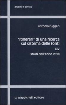 Listadelpopolo.it «Itinerari» di una ricerca sul sistema delle fonti. Vol. 14: Studi dell'anno 2010. Image