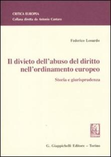 Listadelpopolo.it Il divieto dell'abuso del diritto nell'ordinamento europeo. Storia e giurisprudenza Image