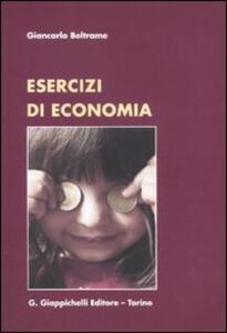 Esercizi di economia