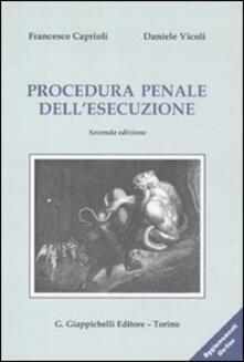 Winniearcher.com Procedura penale dell'esecuzione. Con aggiornamento online Image