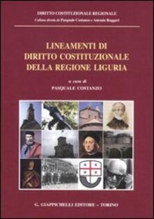 Daddyswing.es Lineamenti di diritto costituzionale della regione Liguria Image