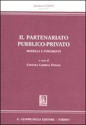 Il partenariato pubblico-privato. Modelli e strumenti