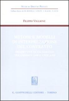 Listadelpopolo.it Metodi e modelli di interpretazione del contratto. Prospettive di un dialogo tra common law e civil law Image