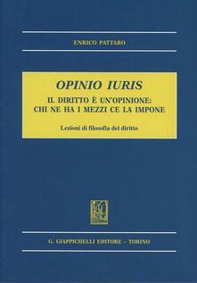 Antondemarirreguera.es Opinio iuris. Il diritto è un'opinione: chi ne ha i mezzi ce la impone. Lezioni di filosofia del diritto Image