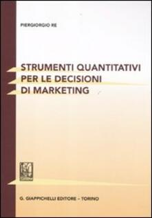Premioquesti.it Strumenti quantitativi per le decisioni di marketing Image