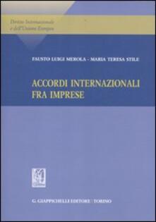 Vastese1902.it Accordi internazionale fra imprese Image
