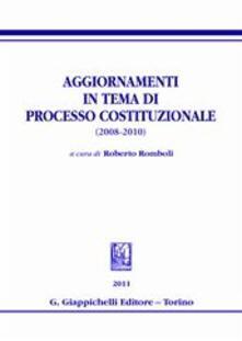 Warholgenova.it Aggiornamenti in tema di processo costituzionale (2008-2010) Image