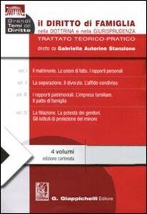Libro Il diritto di famiglia nella dottrina e nella giurisprudenza. Trattato teorico-pratico