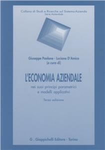 Libro L' economia aziendale nei suoi principi parametrici e modelli applicativi