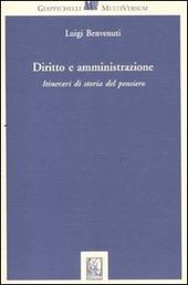 Diritto e amministrazione. Itinerari di storia del pensiero