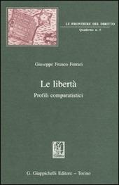 Le libertà. Profili comparatistici