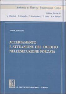 Foto Cover di Accertamento e attuazione del credito nell'esecuzione forzata, Libro di Monica Pilloni, edito da Giappichelli