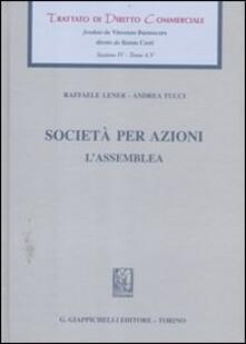 Antondemarirreguera.es Trattato di diritto commerciale. Sez. IV. Vol. 4\5: Società per azioni. L'assemblea. Image