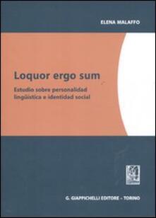 Aboutschuster.de Loquor ergo sum. Estudio sobre personalidad linguistica e identidad social Image
