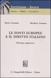 Le fonti europee e il diritto italiano