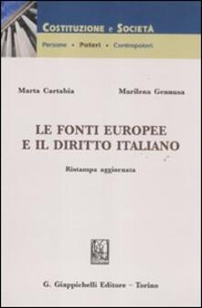 Winniearcher.com Le fonti europee e il diritto italiano Image