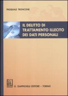Vitalitart.it Il delitto di trattamento illecito dei dati personali Image