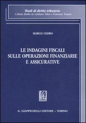 Le indagini fiscali sulle operazioni finanziarie e assicurative