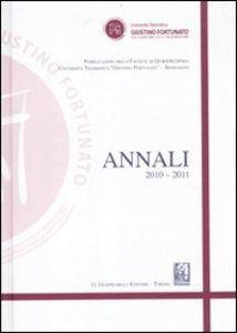 Libro Annali (2010-2011)