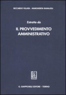 Capturtokyoedition.it Estratto da «Il provvedimento amministrativo» Image
