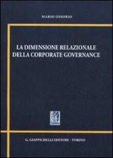 Lpgcsostenible.es La dimensione relazionale della corporate governance Image