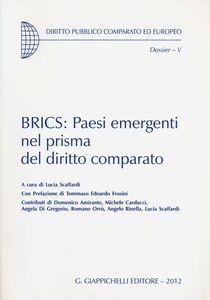Libro BRICS: Paesi emergenti nel prisma del diritto comparato