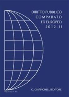 Ascotcamogli.it Diritto pubblico comparato ed europeo 2012. Vol. 2 Image