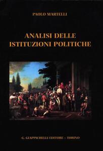 Analisi delle istituzioni politiche