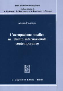 L occupazione «ostile» nel diritto internazionale contemporaneo.pdf