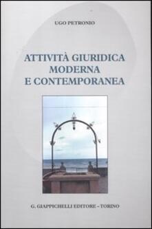 Attività giuridica moderna e contemporanea.pdf