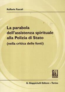 Premioquesti.it La parabola dell'assistenza spirituale alla polizia di Stato (nella critica delle fonti) Image