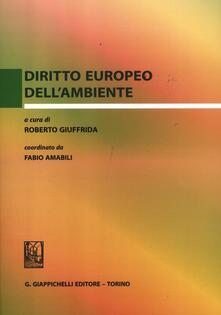 Premioquesti.it Diritto europeo dell'ambiente Image