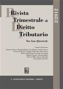 Festivalpatudocanario.es Rivista trimestrale di diritto tributario (2012). Vol. 2 Image