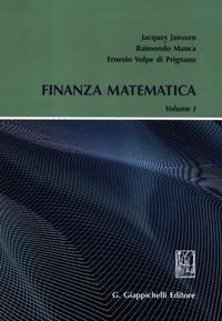 Finanza matematica. Vol. 1 - Janssen Jacques Manca Raimondo Volpe di Prignano Ernesto - wuz.it