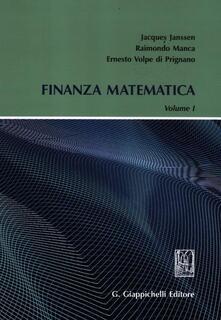 Voluntariadobaleares2014.es Finanza matematica. Vol. 1 Image
