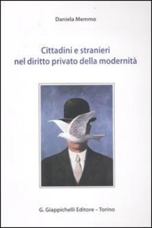 Winniearcher.com Cittadini e stranieri nel diritto privato della modernità Image