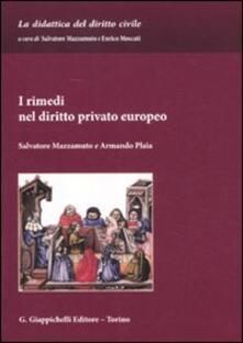 Antondemarirreguera.es I rimedi nel diritto privato europeo Image