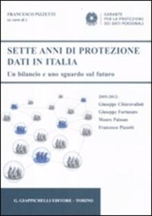 Voluntariadobaleares2014.es Sette anni di protezione dati in Italia. Un bilancio e uno sguardo sul futuro. 2005-2012 Image