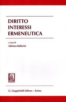 Camfeed.it Diritto interessi ermeneutica Image
