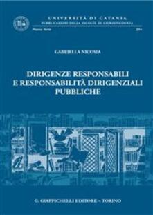 Grandtoureventi.it Dirigenze responsabili e responsabilità dirigenziali pubbliche Image