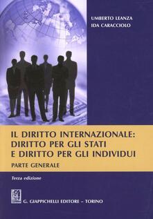 Filippodegasperi.it Il diritto internazionale. Diritto per gli stati e diritto per gli individui. Parte generale Image